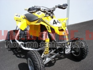 Protection chassis frontale Can AM DS-450