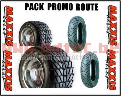 Pack route scoot Maxxis & Kenda > 225/40-10 +130/70-10