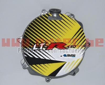 Protection de carter d'embrayage Suzuki LTR-450 JAUNE