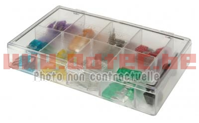 ASSORTIMENT DE 80 MINI FUSIBLES + OUTILLE