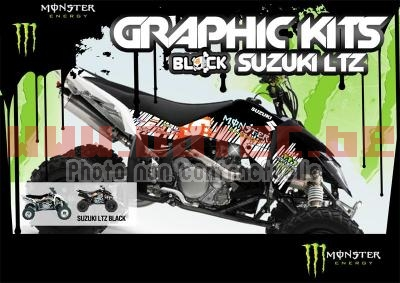 Monster Energy Suzuki LTZ-400 04 > 08