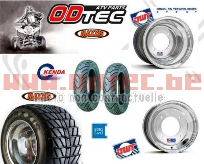 Pack DWT scoot  RL wide 10' 130/70-10 + 225/40-10