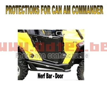 NERF BAR CAN AM COMMANDER