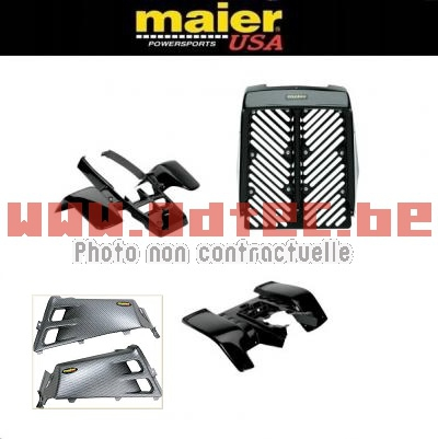 KIT CARROSSERIE, CARENAGE COMPLET MAIER USA YAMAHA BANSHEE 350  BLACK SERIES