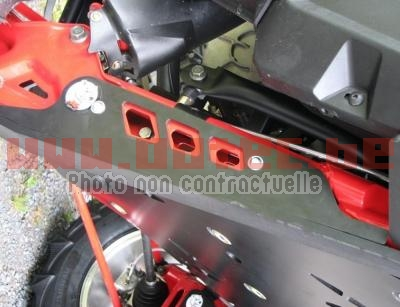 PROTECTION DE BRAS ARRIERE POLARIS RZR900XP (2011 > 2014)