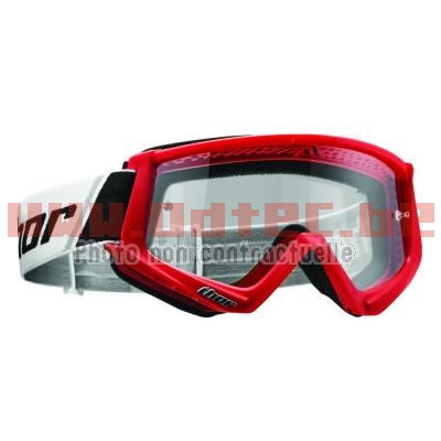 COMBAT OFFROAD GOGGLES RED/BLACK