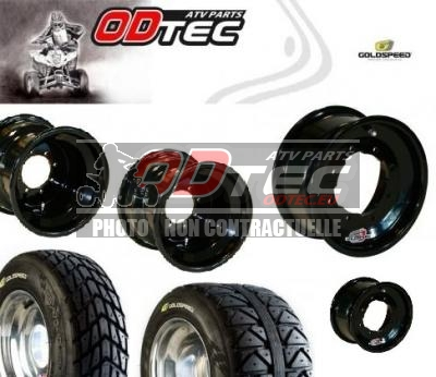 Pack GOLDSPEED DOUBLE ENTRE AXE BLACK SERIES (110/115 + 144/156)