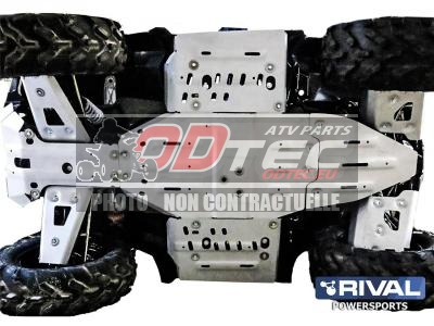 Kit Sabot complet RIVAL alu Polaris Sportsman 850/1000 Touring