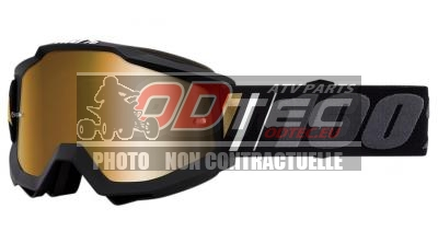 100% GOGGLE AC OFF MIR/GOLD