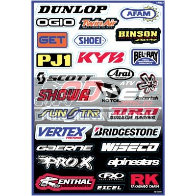 FACTORY EFFEX DECAL,SPONSOR KIT A