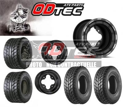 PACK DWT MAXXIS YAMAHA 165/70-10 + 225/40-10