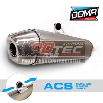 DOMA ACS REPLACEMENT EXHAUST YFZ450 R