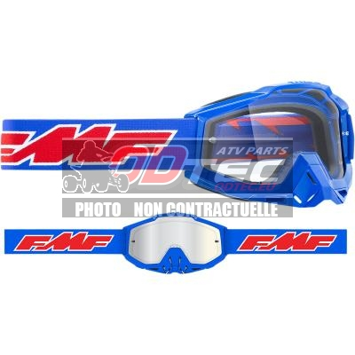 FMF VISION POWERBOMB GOGGLE ROCKET BL CLR