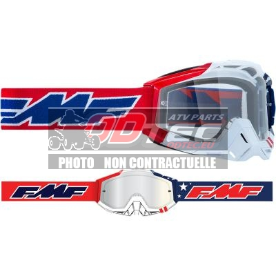 FMF VISION US POWERBOMB Goggles - Clear