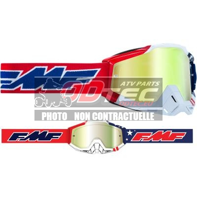 FMF VISION US POWERBOMB Goggles - Gold