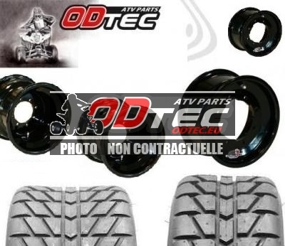 Pack GOLDSPEED DOUBLE ENTRE AXE BLACK SERIES & MAXXIS RL (165/225)