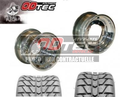 Pack GOLDSPEED DOUBLE ENTRE AXE CHROME & MAXXIS RL
