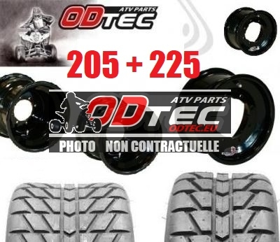Pack GOLDSPEED DOUBLE ENTRE AXE BLACK SERIES & MAXXIS RL 205+225